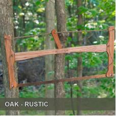 21in Oak - Rustic Fin Bucksaw
