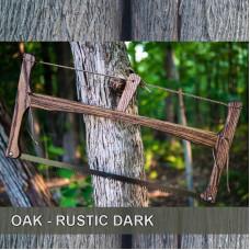 21in Oak - Dark Rustic Finish