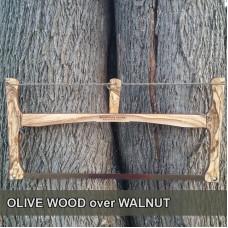 24in Olive Wood / Walnut