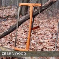 21in Zebra Wood Bucksaw