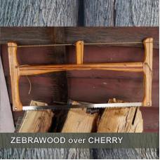 24in Zebra Wood over Cherry